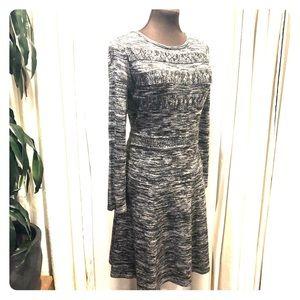 Gray Calvin Klein Sweater Dress